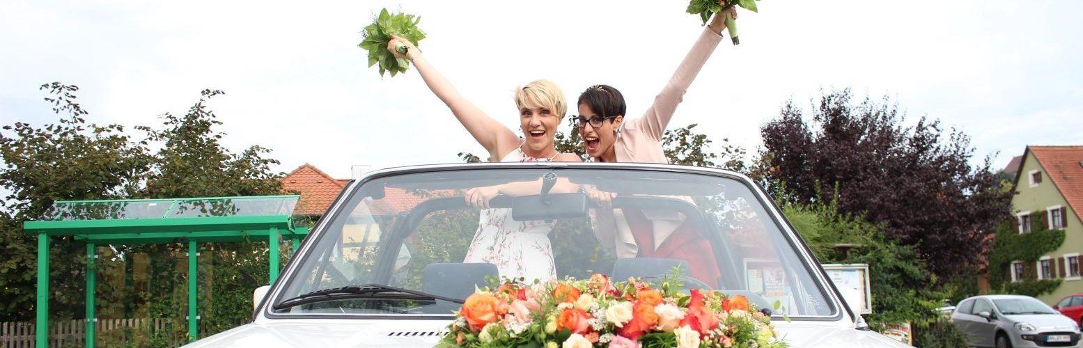 Eindrücke in meine freien Trauungen - glückliches Ehepaar