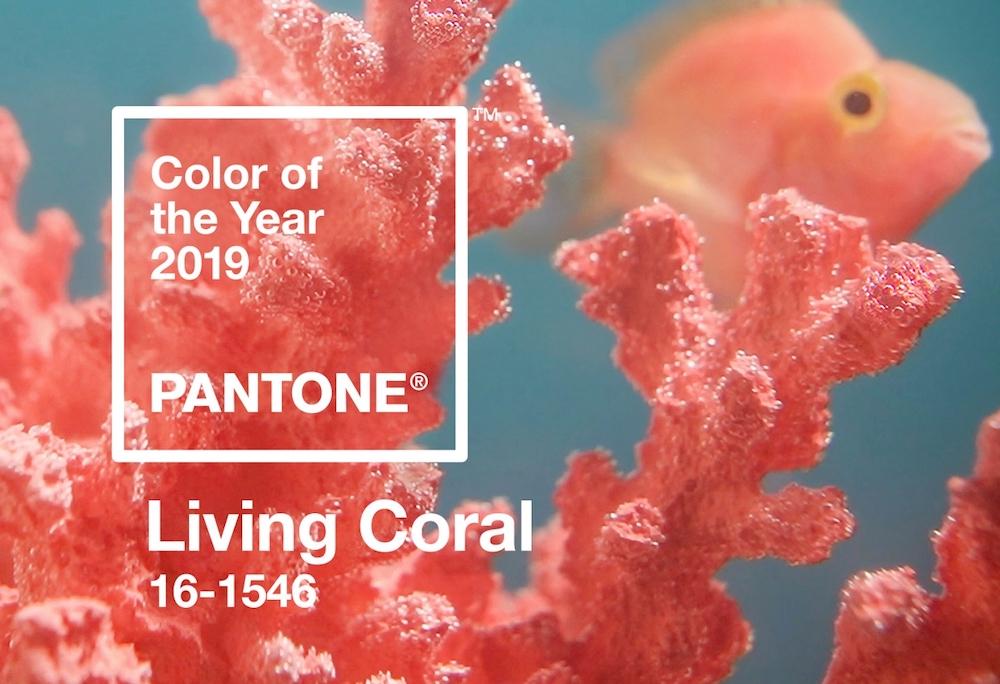 Trendfarbe Hochzeit 2019 - Living Coral von Pantone