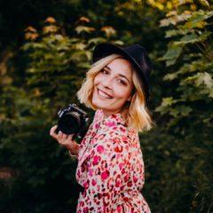 Fotografin Ksenia Didel